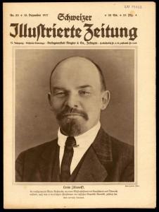 Lenin in den Schweizer Medien. Vor der Revolution wurde er kaum wahrgenommen. Quelle: Schweizer Illustrierte Zeitung, Nr. 50, zvg vom Landesmuseum.